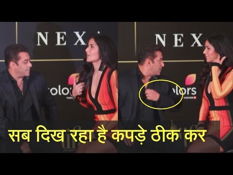 Salman Khan Asked Katrina To Cover Her Deep Cleavage in Front of All In Press Confreres