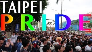 TAIWAN PRIDE: Asia's Biggest Pride | Gay Solo Travel