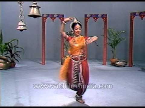 Pallavi Odissi dance by Madhavi Mudgal