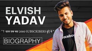 ELVISH YADAV Success Story | Biography | हिंदी