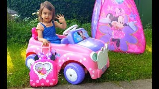 Minnie Mouse Holiday / Clubhouse Minnie Pink Car / Disney Junior Video