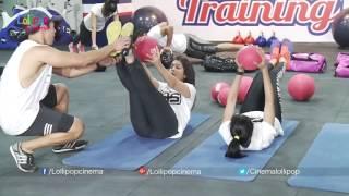 Top Telugu Heroines Rakul Preet, Rashi, Regina Work Out At Gym With Raviteja & Rana