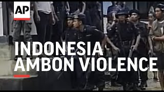 INDONESIA: AMBON: VIOLENCE