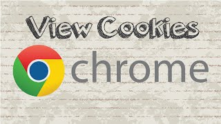 How to view cookies in Google Chrome