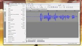 Migliorare l'audio con Audacity - YouTube Tutorial