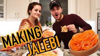 COOKING CHALLENGE WITH MAMA JAFRY (JALEBI)
