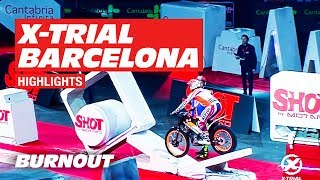 2019 FIM X-Trial World Championship | BARCELONA FINAL | Bou vs Raga | BURNOUT