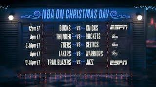 The NBA Lights Up Christmas Day