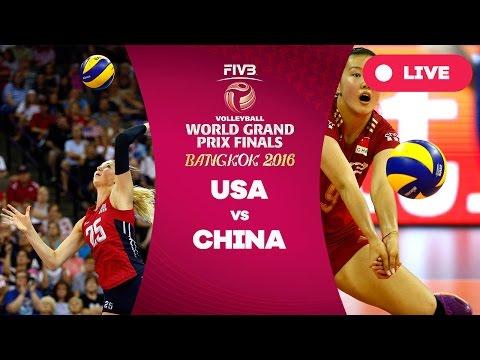 watch United States v China - Group 1: 2016 FIVB Volleyball World Grand Prix