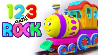 Learn To Count | Number Song With Rock Train | 1 to 10 Counting Song and Nursery Rhymes For Children