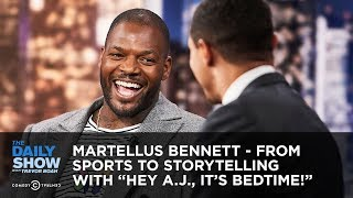 "Martellus Bennett - From Sports to Storytelling with ""Hey A.J., It"