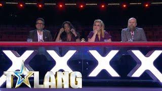 Deltagarna får reda på resultaten inför semi-finalen i Talang 2017 - Talang (TV4)