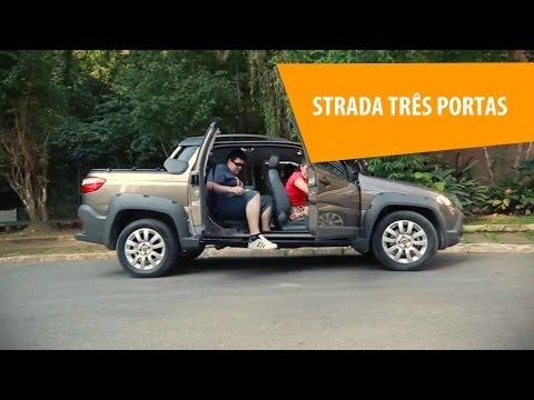 Fiat Strada com três portas Vale a pena