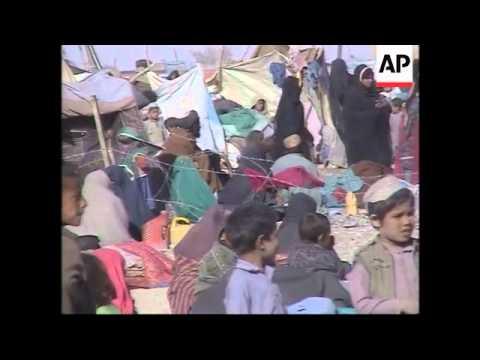 Refugee crisis on Afghan/Pakistan border