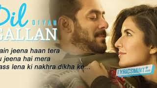 Dil Diyan Gallan Song | Tiger Zinda Hai | Salman Khan | Katrina Kaif | Atif Aslam Cover By Shabbir M
