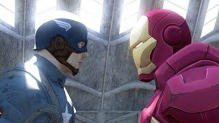 Captain America Vs Ironman - Civil War Trailer