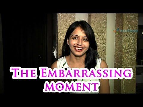 Shrenu Parikh's embarrassing moment