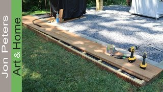 Build a small Deck   Outdoor Kitchen Project