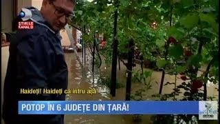 Stirile Kanal D (27.06.2017) - Potop in 6 judete din tara! Inundatiile au facut ravagii