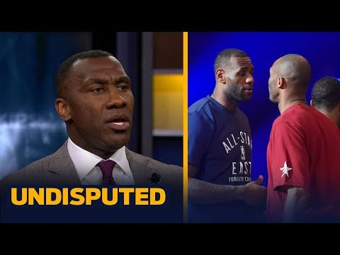 Kobe Bryant vs LeBron James Skip and Shannon passionately debate who is better UNDISPUTED