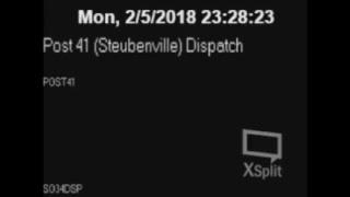 Live Police Scanner Steubenville Ohio & Surrounding Areas.