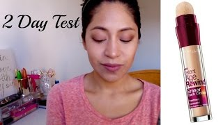 Review & Demo Instant Age Rewind Concealer (Maybelline)