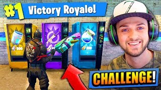 VENDING MACHINE *ONLY* CHALLENGE in Fortnite: Battle Royale!