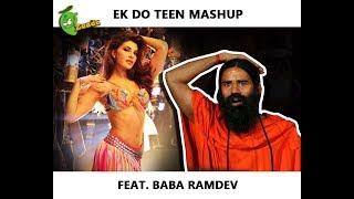 Baaghi 2: Ek Do Teen Mashup Feat. Baba Ramdev (Jacqueline Fernandez Baaghi 2 Song )