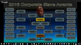 The 2016 Corporate Slave Awards - Round 1 - Part 2 #CSA2016