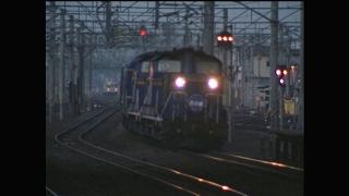(非HD)苫小牧駅 「北斗星2号」の着発とその前後