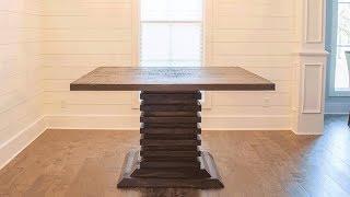 DIY Bar Height Dining Room Table! | Woodbrew Workshop