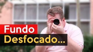 Como Fazer Vídeos com o Fundo Desfocado - Lente 50mm