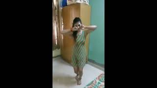 Sexy Aunty Dance at home alone