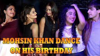 Shivangi Joshi & Mohsin Khan Dance on His Birthday | Yeh Rishta Kya Kehlata Hai - Naira Dance