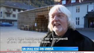 Locuitorii unui orasel din Norvegia traiesc in umbra muntilor cate 6 luni pe an