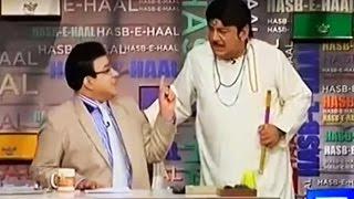 Hasb e Haal 22 May 2016 - Azizi as Ranjha - Dunya News