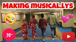 MAKING MUSICAL.LYS WITH DANIELLE COHN AND JMONEYKIKS | JAZMINE AND NICK