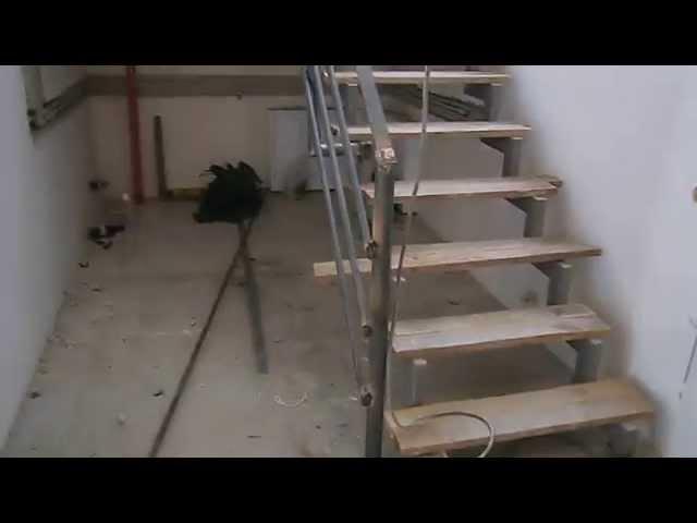 Лестница на второй этаж своими руками ютуб
