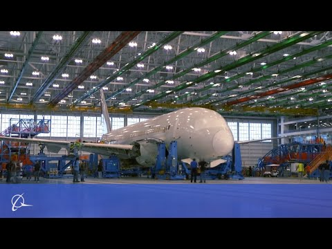 Boeing's 787 Dreamliner gets assembled quickly