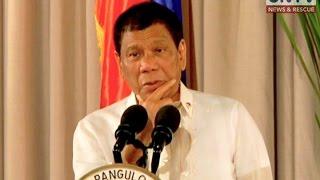 Ilang media agencies at simbahang Katolika, tinuligsa ni Pangulong Rodrigo Duterte