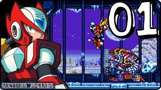 Vamos Jogar Megaman X3 com Zero Parte 01