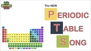 The Periodic Table Song for Kids  (2019 Update!)