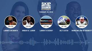 UNDISPUTED Audio Podcast (2.28.18) with Skip Bayless, Shannon Sharpe, Joy Taylor | UNDISPUTED