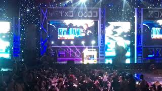 AY daughter perform on stage at the AY Live 2018 full edition
