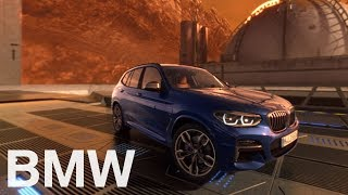 BMW X3. On a 360°mission to mars. A virtual testdrive.