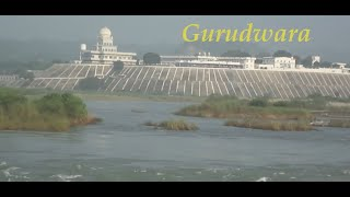 AMAZING VIEW OF GURUDWARA SHRI TIBBI SAHIB KIRATPUR SAHIB- BHARAT GARH ROAD ROPAR (RUPNAGAR) PUNJAB