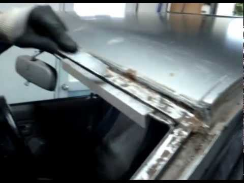 rust around windscreen repairs (lesson)
