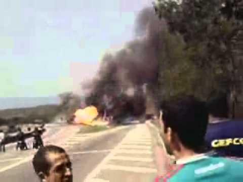 Acidente na Rodovia Presidente Dutra na altura do KM209 em Seropédica RJ 13 09 2010