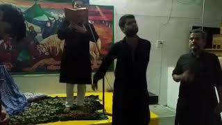 Pyasi he sakina s.a. noha  by Jawwad Haider zaidi.