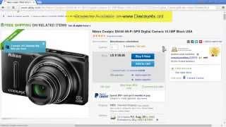 $125 Discount Coupon for Ebay (Cameras & Photo category)   Aug 26, 2014